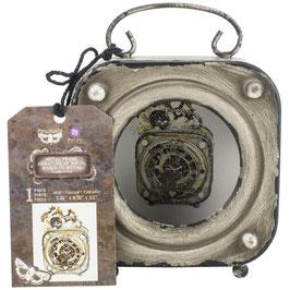 Finnabair-Prima Marketing-Altered Metal Frame/Alarm Clock