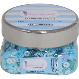 Dress My Crafts/Shaker Elements-Sea Breeze Sequins