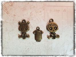Metall Charms-Baby Bronce-1/121