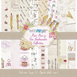 "Papers for you-Scrapbooking Papier/Rico Rico y Con Fundamento 12x12"""
