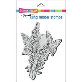 Stampendous! Stempel-Lacy Butterflies