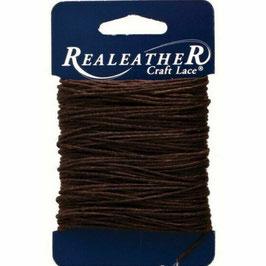 Realeather Crafts-Waxed Thread/Gewachster Faden-Braun