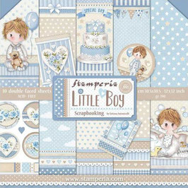 Stamperia-Paper Pad Little Boy 12x12""