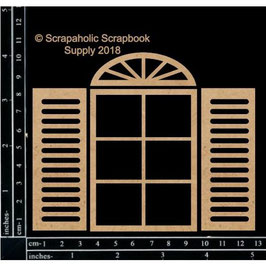 Scrapaholic/Laser Cut Chipboard-Basic Window
