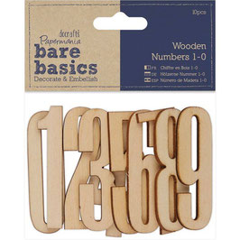 Papermania/Wooden Numbers 1-0