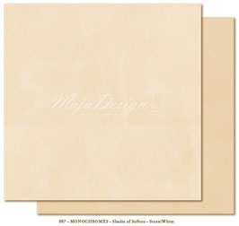 "Maja Design - Shades of Sofiero - Mono Straw Wheat - 12x12"""