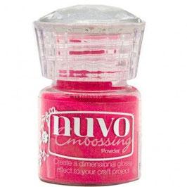 Nuvo-Embossing Pulver/Strawberry slush