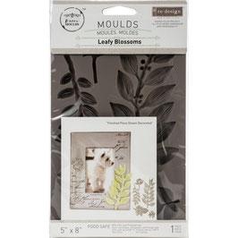 Re Design with Prima Marketing-Silikonform/Leafy Blossoms