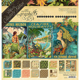 Deluxe Collector's Edition-Graphic 45/Tropical Travelogue 12x12""