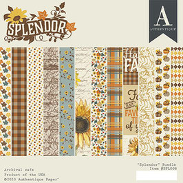 Authentique-Paper Pad/Splendor 6x6""