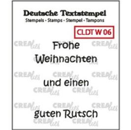"""Crealies-Clear Stamps """"Weihnachten 06"""""""