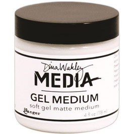 Dina Wakley-Gel Medium Soft Matte/Dose 118ml