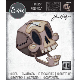 Sizzix Thinlits by Tim Holtz-Stanzform/Skelly Colorize