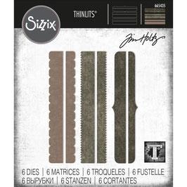 Sizzix by Tim Holtz Thinlits-Stanzform/Decorative Trims