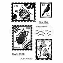 Woodware-Stempel/Beetle Post