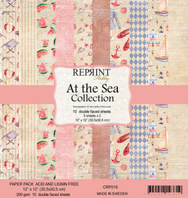 Reprint-At the Sea Collection 12x12""