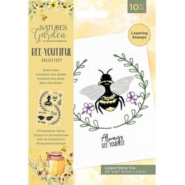 Crafter's Companion Stempel-Bee-Youtiful Collection/Build a Bee