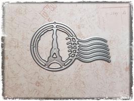Stanzform-Poststempel/Streifen links 1093