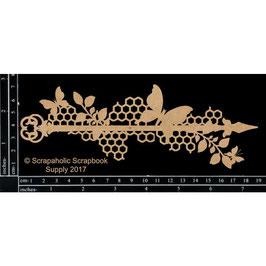 Scrapaholic/Laser Cut Chipboard-Butterfly Medley