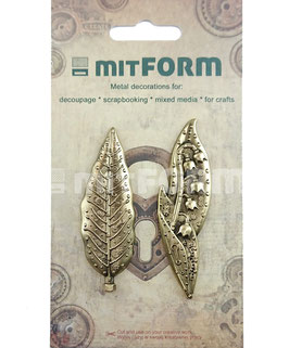 Mitform-Metall Charms/Flowers 4