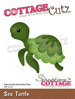 Cottage Cutz Stanzform-Sea Turtle