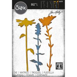 Sizzix by Tim Holtz Bigz L-Stanzform/Large Stems #2