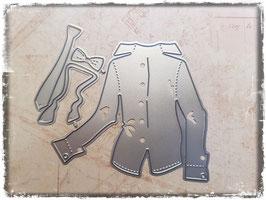 Stanzform-Hemd & Krawatte 3074