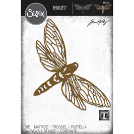 Sizzix by Tim Holtz Thinlits-Stanzform/Perspective Moth