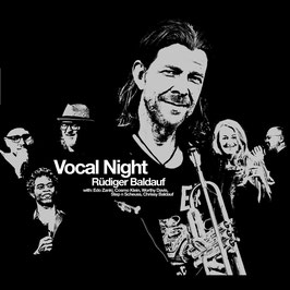 RÜDIGER BALDAUF Vocal Night CD Digipack feat. Edo Zanki, Worthy Davis & Cosmo Klein / Jazz/Soul Pop