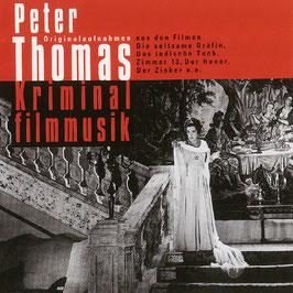 "PETER THOMAS Kriminalfilmmusik CD / u.a. aus ""Der Hexer"""