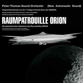 PETER THOMAS SOUNDORCHESTER Raumpatrouille Orion (Reissue + Bonustracks) CD
