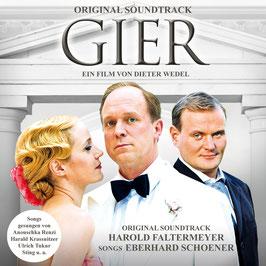 GIER Original Soundtrack CD / Eberhard Schoener, Harold Faltermeyer