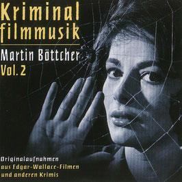 KRIMINALFILM-MUSIK Martin Böttcher Vol.2 CD / Edgar Wallace u.a. Krimis