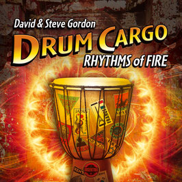 DAVID & STEVE GORDON Drum Cargo Rhythms of Fire CD / Indian Drums / Native Flutes