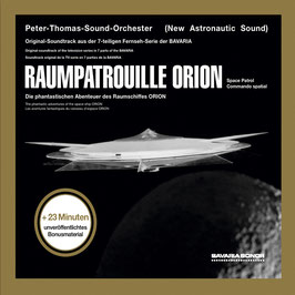 PETER THOMAS SOUND ORCHESTER Raumpatrouille Orion CD, Ltd. Edition, handsigniert