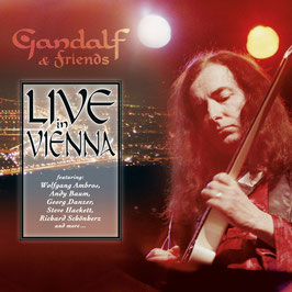 GANDALF & FRIENDS Live In Vienna CD+DVD / Guitar Music / Ambient