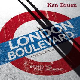 LONDON BOULEVARD Ken Bruen 4 CD PROFILE DIGI PAC / Kriminalroman