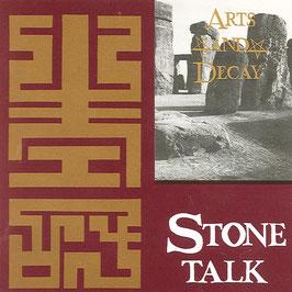 ARTS AND DECAY Stonetalk CD / Rock Alternative