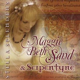 MAGGIE BETH SAND & SERPENTYNE Stella Splendens CD / World Fusion