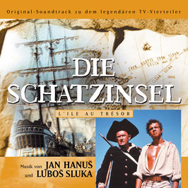 DIE SCHATZINSEL Original Soundtrack CD / Jan Hanus / Lubos Sluka
