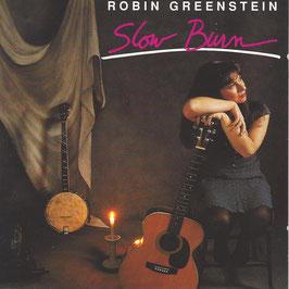 ROBIN GREENSTEIN Slow Burn CD / Folk Songwriter