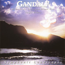 GANDALF Symphonic Landscapes VINYL LP CBS 1990