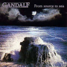 GANDALF From Source To Sea VINYL LP CBS 1988