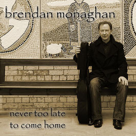 BRENDAN MONAGHAN never too late to come home CD / Singer-Songwriter Irland