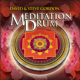DAVID & STEVE GORDON Meditation Drum CD / Indian Drums / Native Flutes