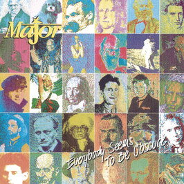 THE MAJOR Everybody Seems To Be Obscured CD / Alternative