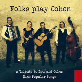 FOLKS PLAY COHEN Nine Popular Songs CD / Pop with Vocals