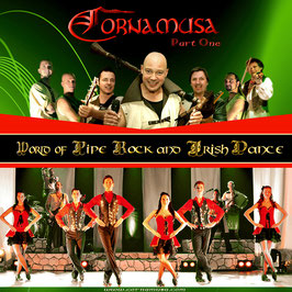 CORNAMUSA World of Pipe Rock and Irish Dance Part One CD / CelticFolkRock