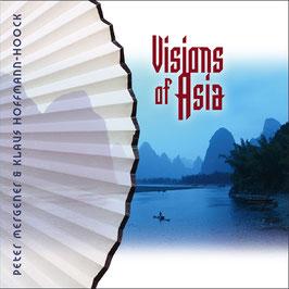 PETER MERGENER & KLAUS HOFFMANN-HOOCK Visions Of  Asia CD