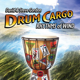 DAVID & STEVE GORDON Drum Cargo Rhythms of Wind CD / Indian Drums / Native Flutes